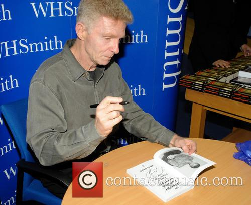 Billy Hayes signs copies of his new book...