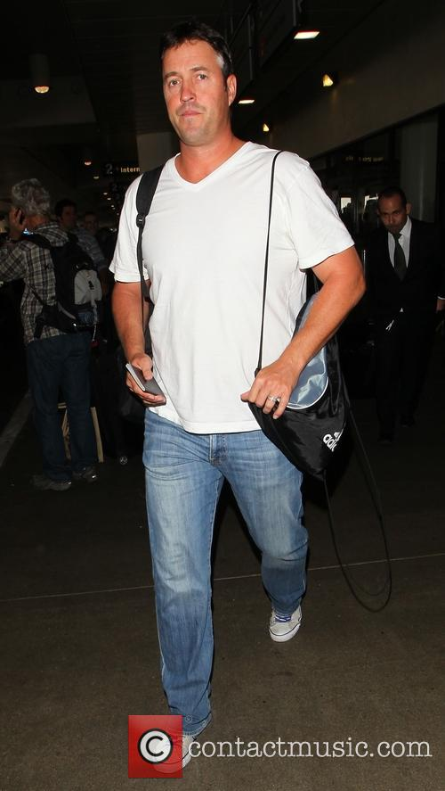 New Zealand cricket player Blair Pocock at LAX