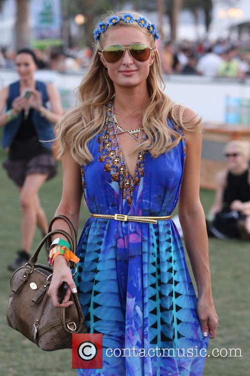 paris hilton celebrities at the 2013 coachella 3605513