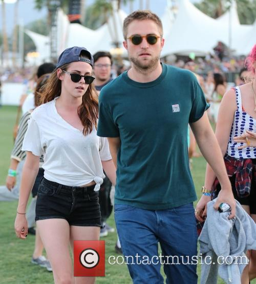 Rob and Kristen Coachella