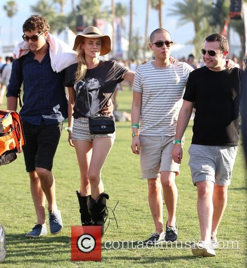 Joshua Jackson, Diane Kruger, Jason Wu and Gustavo Rangel 2