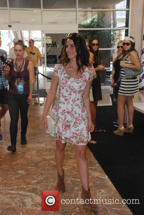 Celebrities arrive at Hard Rock Hotel during 2013...