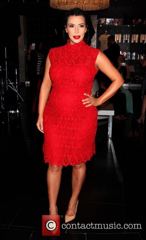 Kim Kardashian makes her second solo appearance at 'Kardashian Khaos'