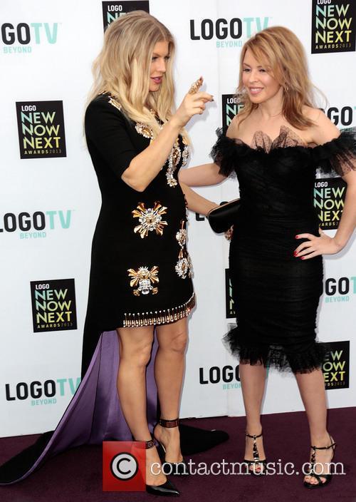 Fergie Aka Stacy Ferguson and Kylie Minogue 1