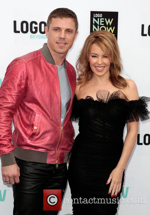 Jake Shears and Kylie Minogue