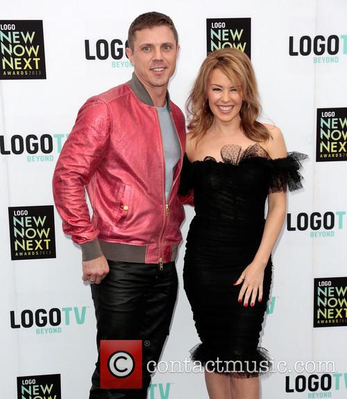 Jake Shears and Kylie Minogue 4