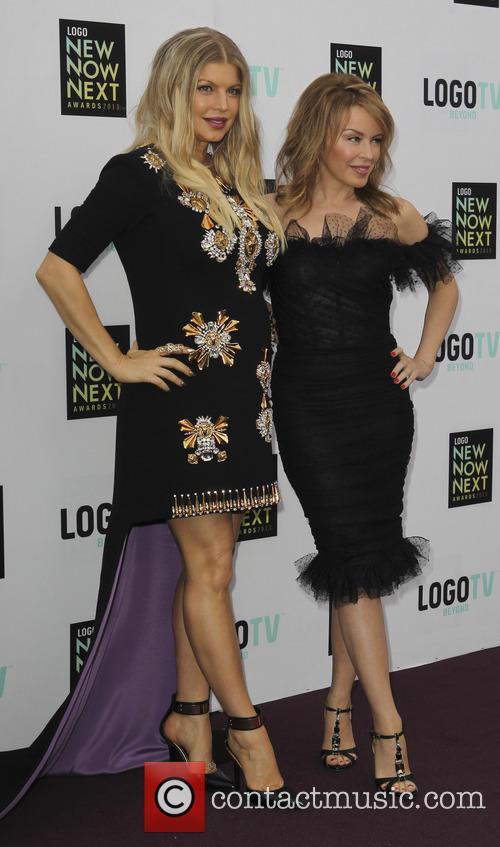 Fergie Aka Stacy Ferguson and Kylie Minogue 5