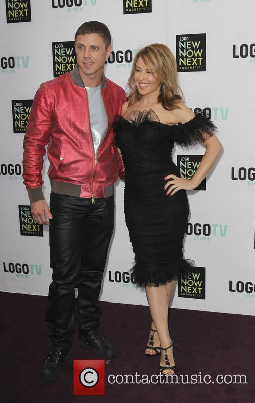 Jake Shears and Kylie Minogue 8
