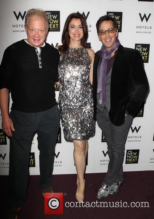 Jeff Perry, Bellamy Young and Dan Bucatinsky 8
