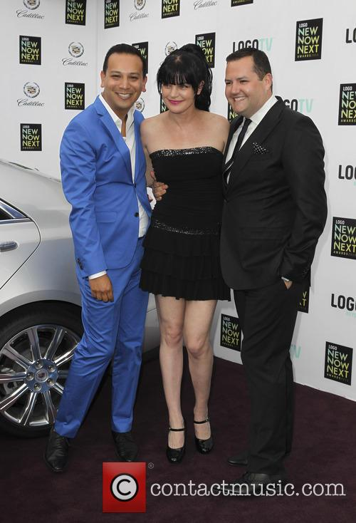 Salvador Camarena, Pauley Perrette and Ross Mathews 3