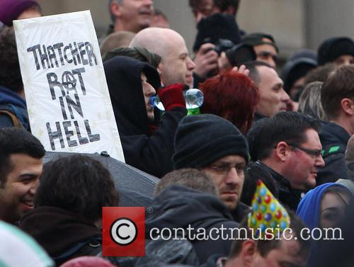 Anti Thatcher demonstration