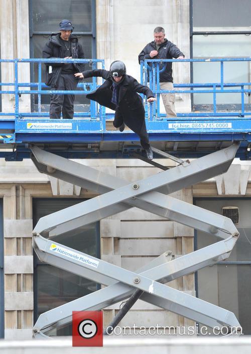 Benedict Cumberbatch, A stuntman