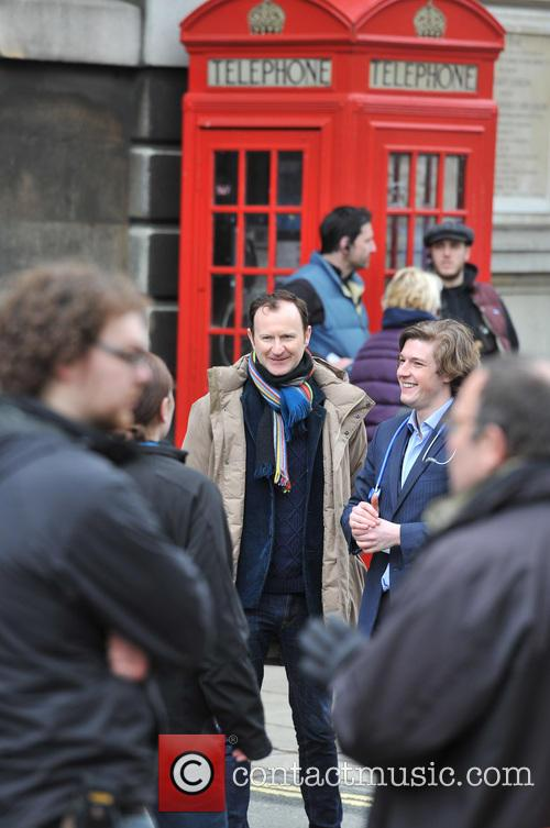 Benedict Cumberbatch and Mark Gatiss 4