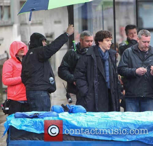 Benedict Cumberbatch, St Barts Hospital