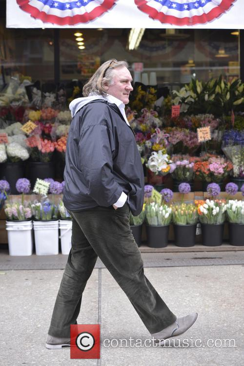 Gerard Depardieu and daughter Roxanne Depardieu go out...