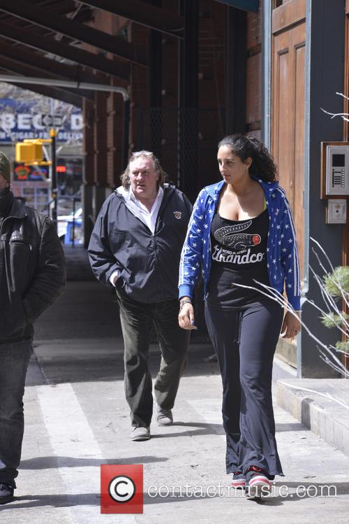 Gerard Depardieu and Roxanne Depardieu 7
