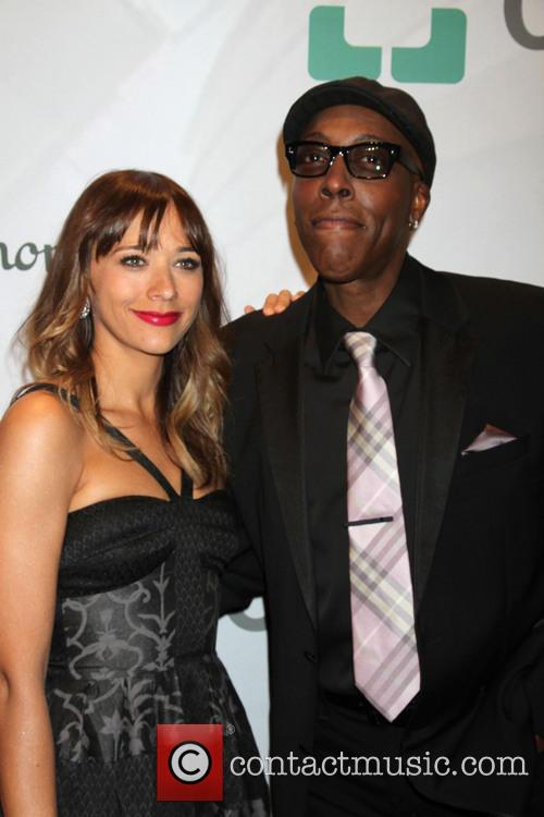 Rashida Jones and Arsenio Hall 4