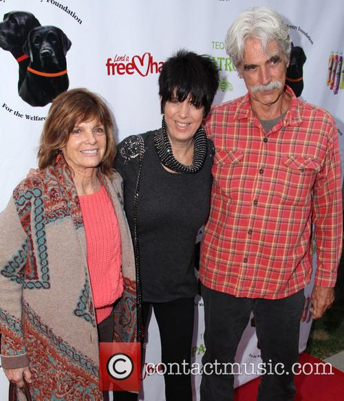 Sam Elliott, Diane Warren and Katharine Ross 1
