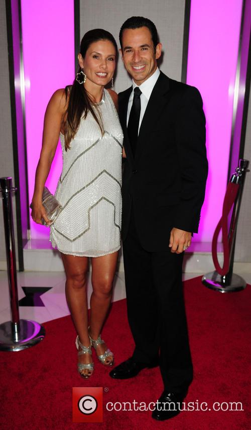 Adriana Henao and Helio Castroneves 2