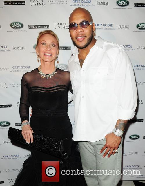 Flo Rida and Lea Black 2