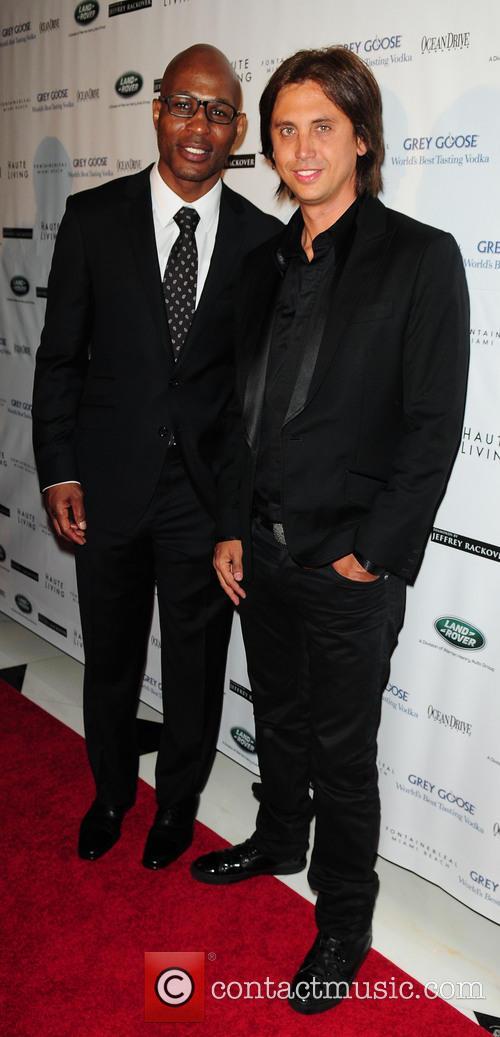 Jonathan Cheban and Bernard Hopkins 1