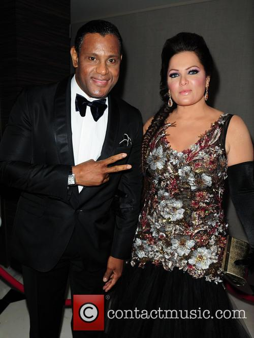 Sammy Sosa and Sonia Sosa 2
