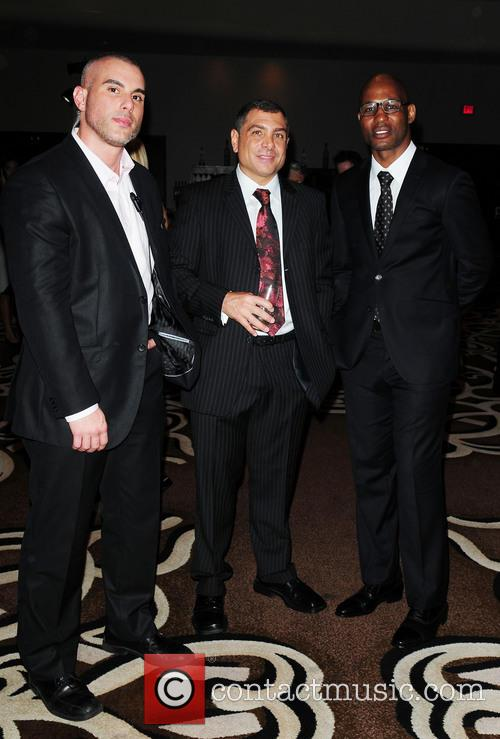 Guest, Antonio Misuraca and Bernard Hopkins 1