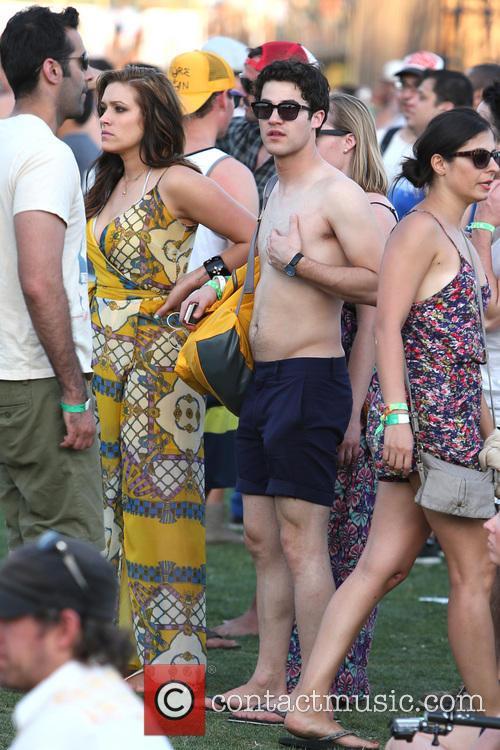 Darren Criss and Mia Swier 3
