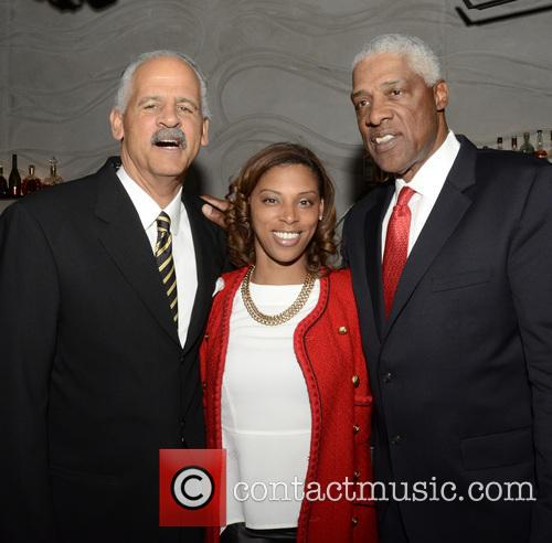Stedman Graham, Jazmin Erving and Julius 'dr J' Erving