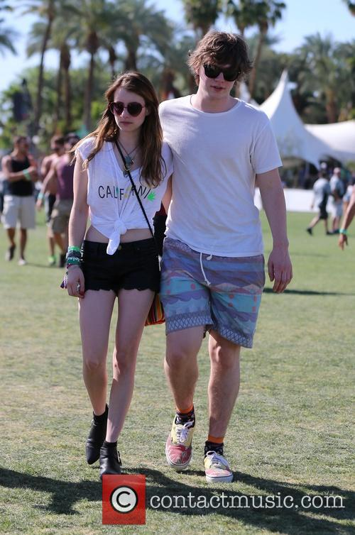 Celebrities at the 2013 Coachella Valley Music and...
