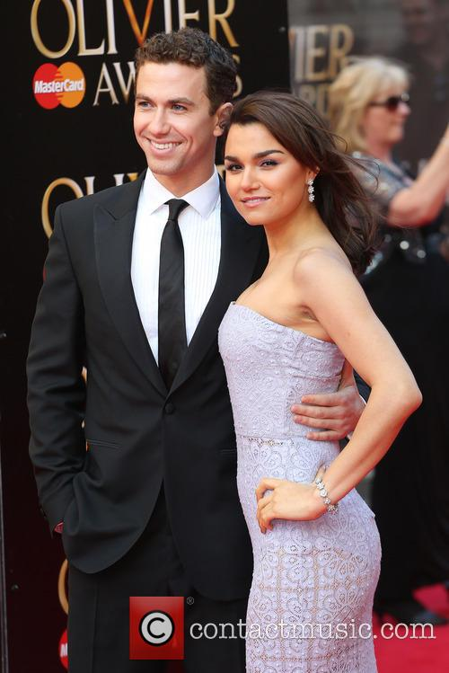 samantha barks boyfriend richard fleeshman the laurence olivier 4155642