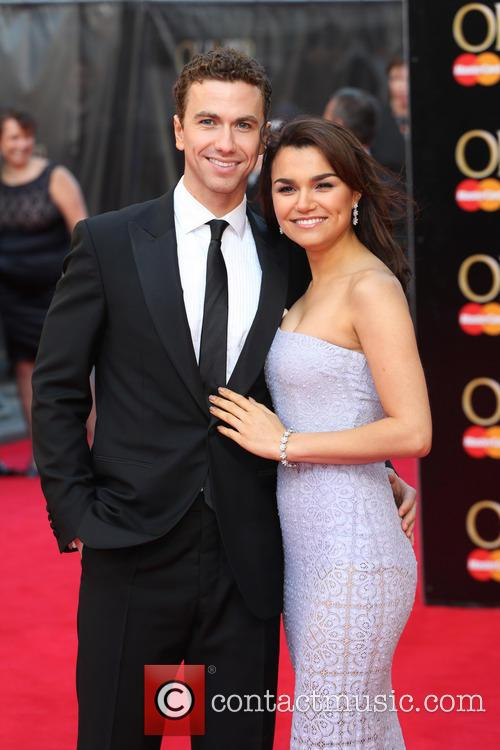 Samantha Barks and Boyfriend Richard Fleeshman 6