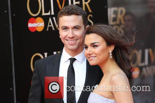 Samantha Barks and Boyfriend Richard Fleeshman 7