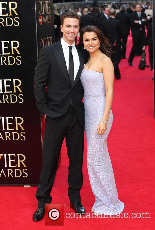 Samantha Barks and Boyfriend Richard Fleeshman 9
