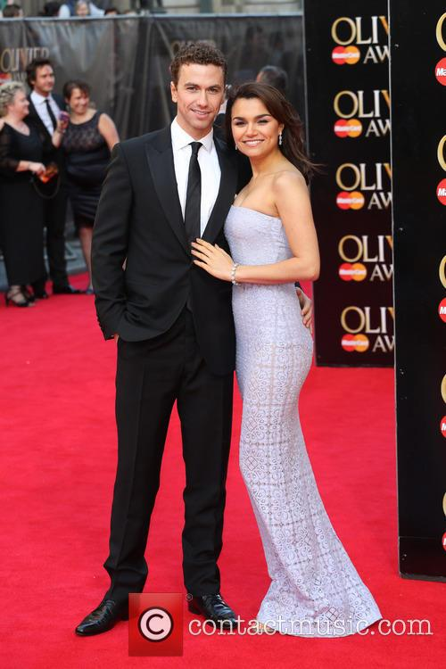 Samantha Barks and Boyfriend Richard Fleeshman 11