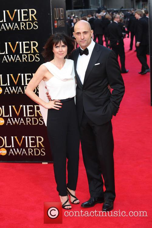 Mark Strong and Wife Liza Marshall 2