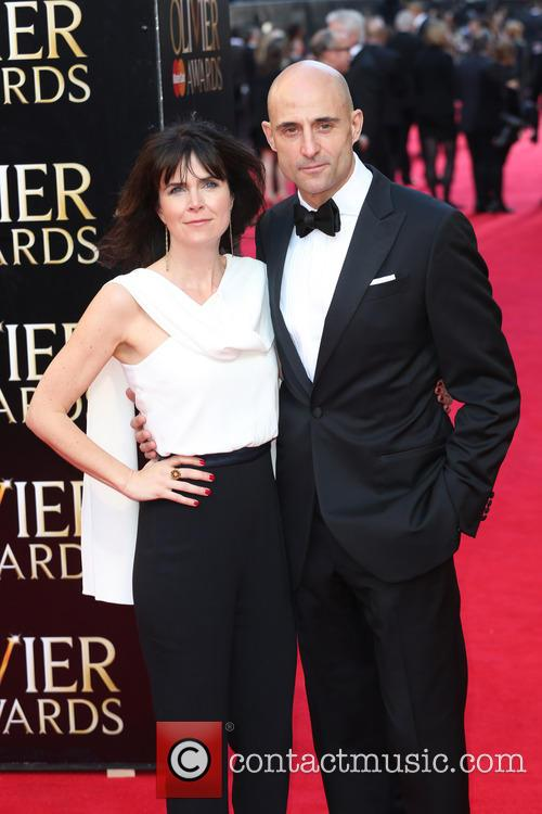 Mark Strong and Wife Liza Marshall 1