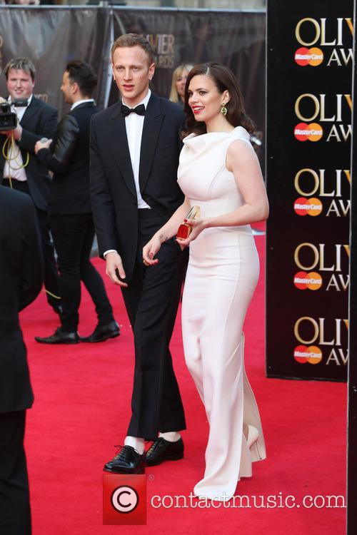 Hayley Atwell and Boyfriend Evan Jones 6