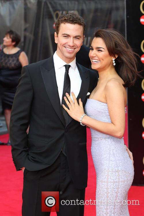 Samantha Barks and Boyfriend Richard Fleeshman 2