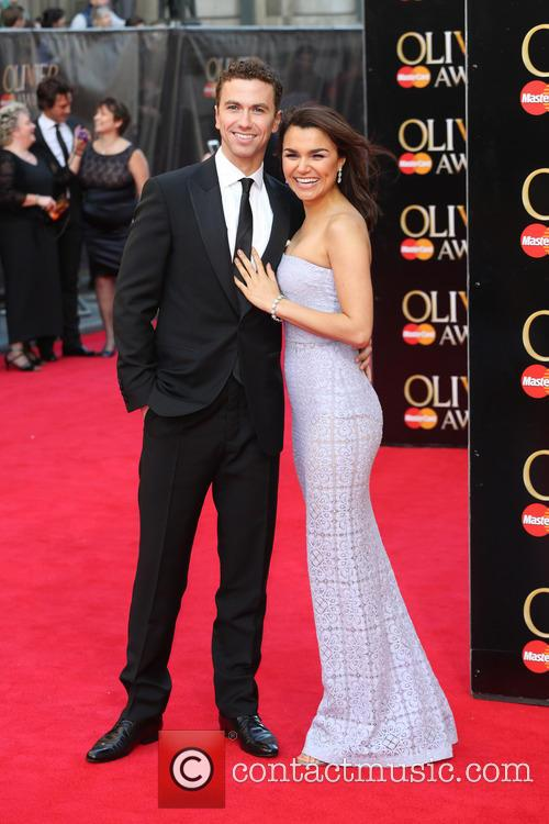 Samantha Barks and Boyfriend Richard Fleeshman 3