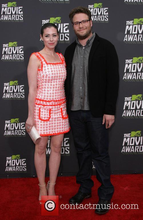 Seth Rogen and Lauren Miller 2