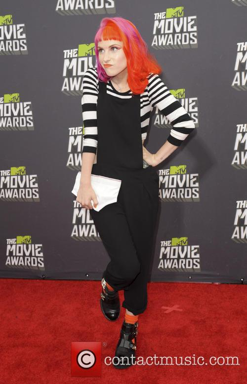 hayley williams 2013 mtv movie awards 3606571