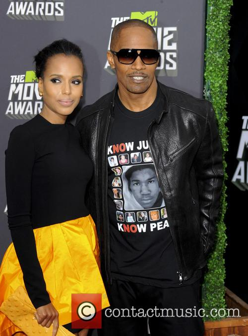 Kerry Washington and Jamie Foxx 5