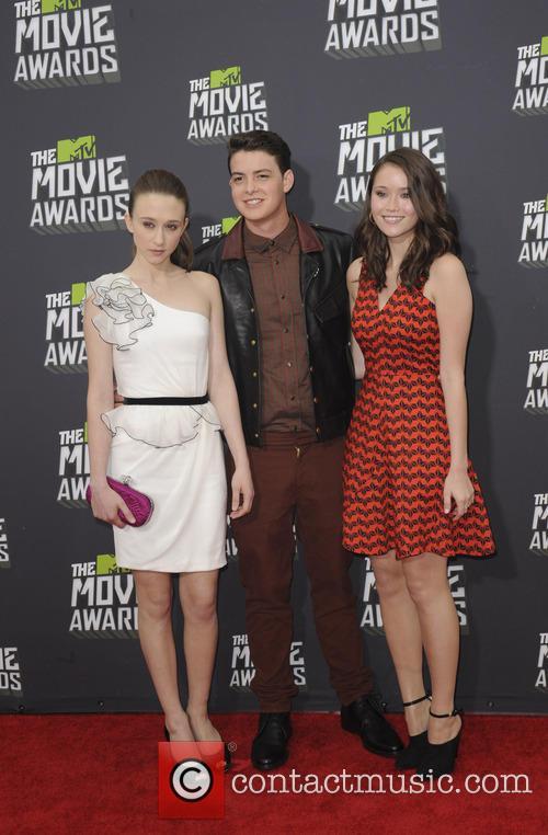 Taissa Farmiga, Israel Broussard and Katie Chang 3