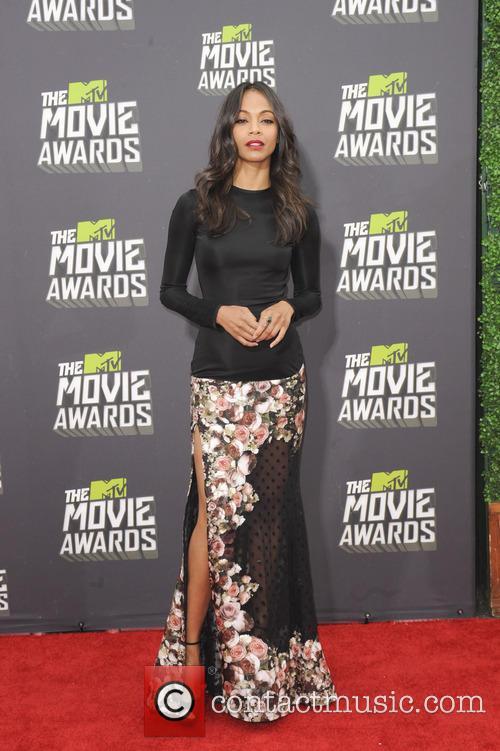 Zoe Saldana, MTV Movie Awards
