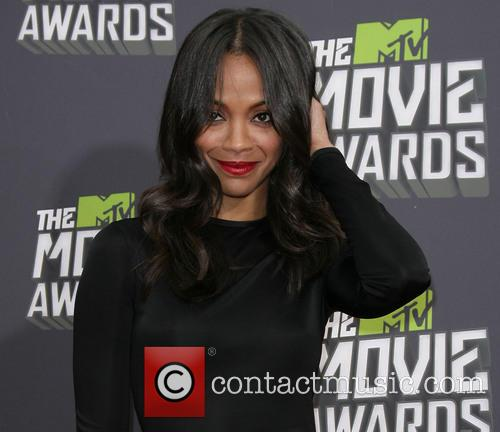 Zoe Saldana, MTV Movie Awards
