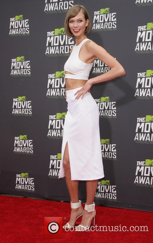 karlie kloss 2013 mtv movie awards arrivals 3606863