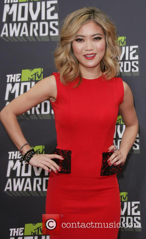 jessica lu 2013 mtv movie awards arrivals 3607145