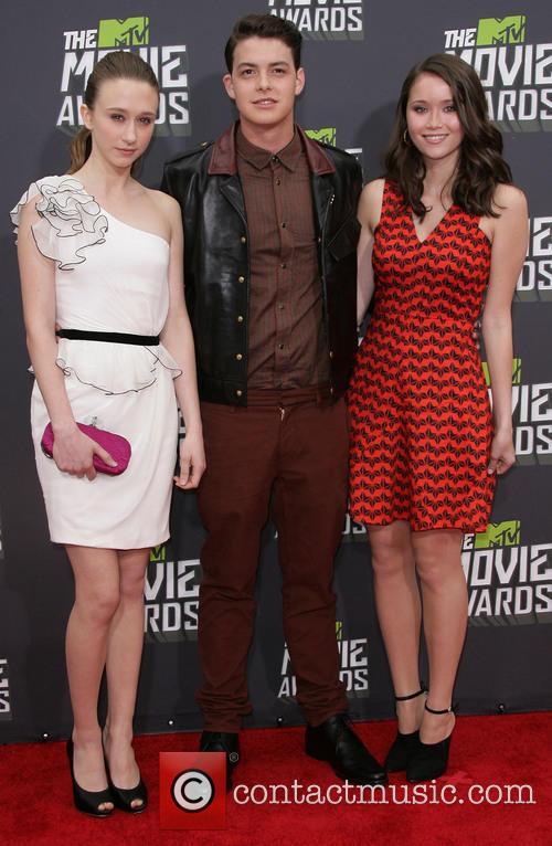 Taissa Farmiga, Israel Broussard and Katie Chang 1