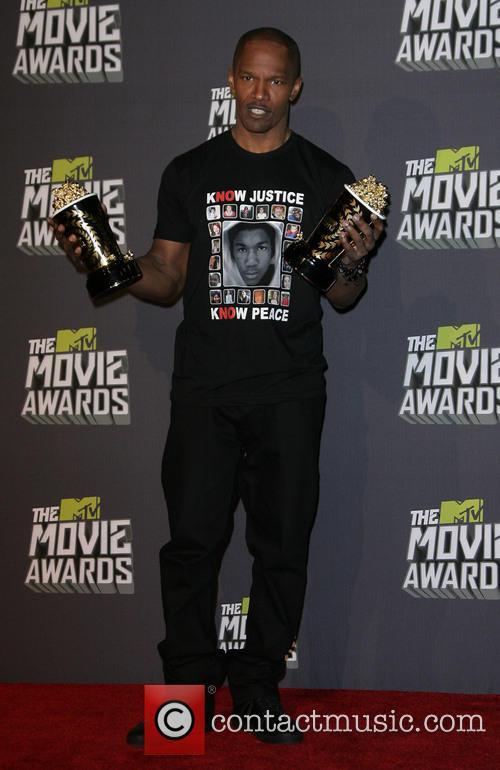 Jamie Foxx at MTV Movie Awards